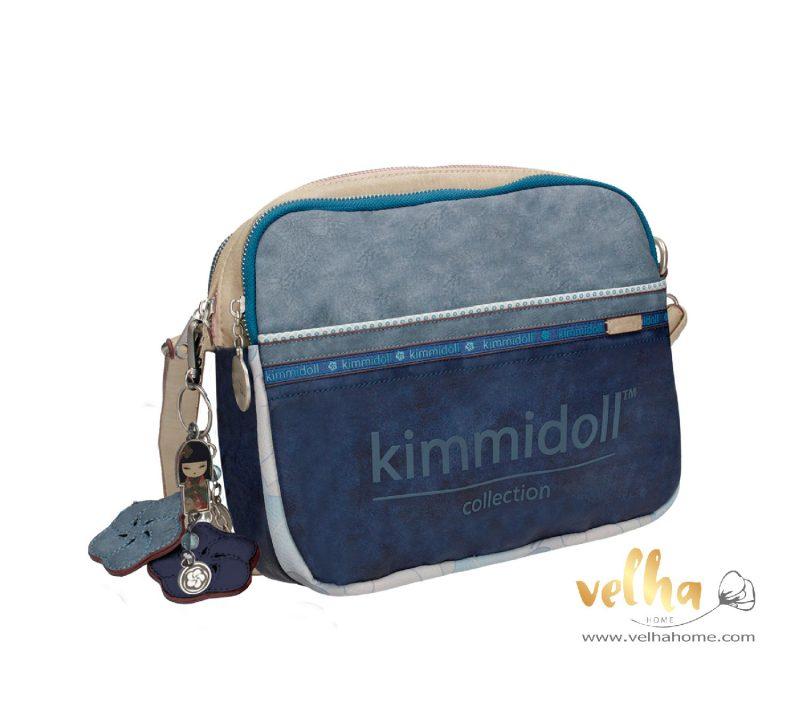 bandolera kimmidoll azul